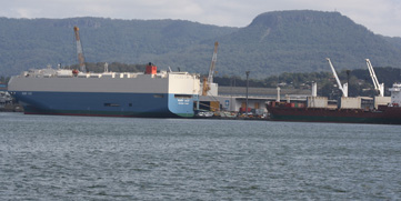 Motor Vehicle Import Facility, Port Kembla