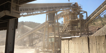 Crushing, Screening & Stock Piling Plant