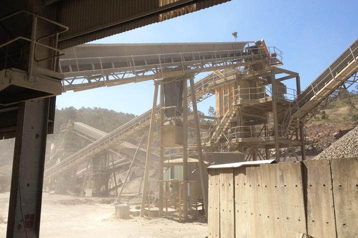 Crushing, Screening & Stock Piling Plant