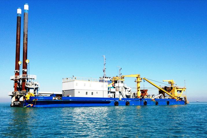 Dredging Equipment, Darwin Harbour