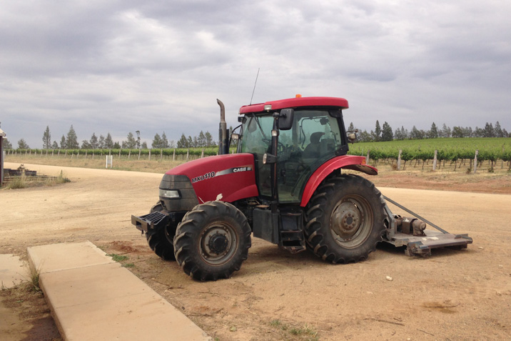 Four Wheel Drive Tractor & Implement