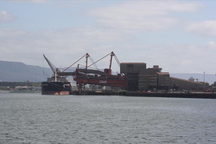 Coal Loader Berths, Port Kembla