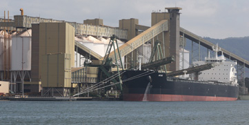 Grain Silos and Loading Facilities, Port Kembla