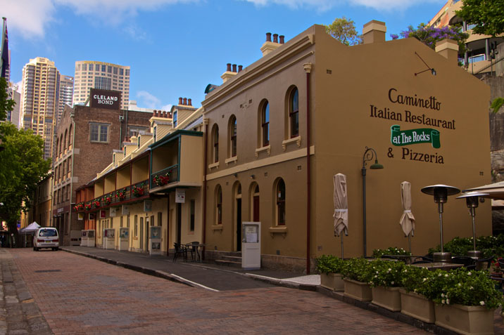 Playfair Terraces, The Rocks